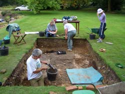 Chesham Bois House - Excavations